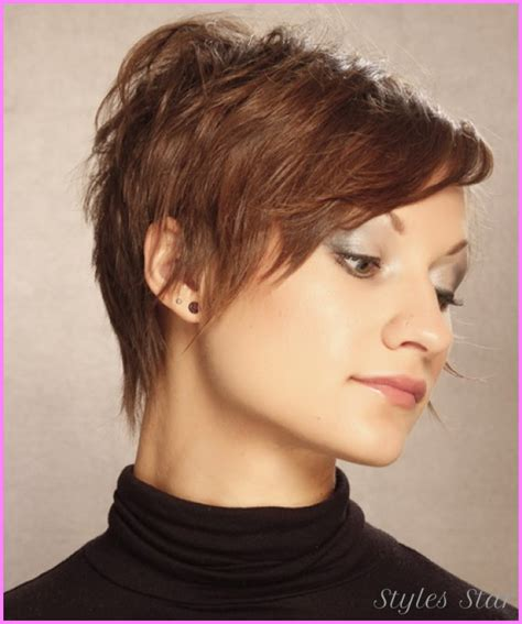 short hair with wispy front and sides short wispy haircuts stylesstar com