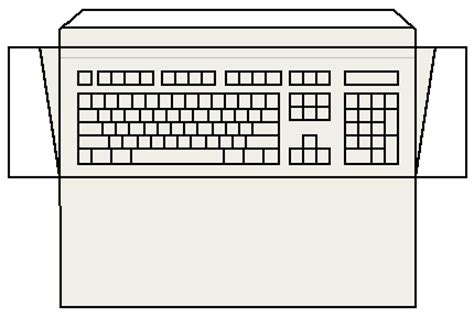 blank keyboard worksheet