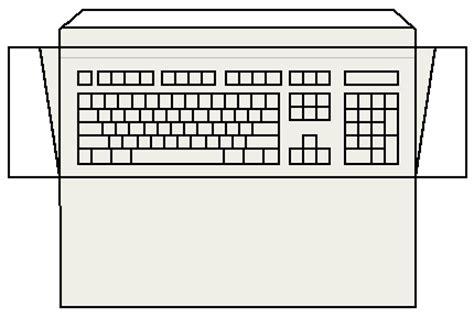 blank keyboard template printable blank keyboard worksheet