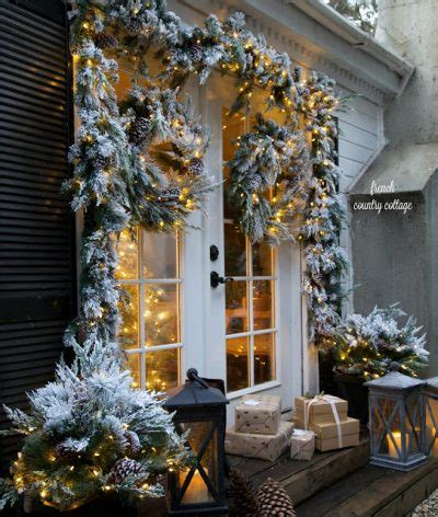 outdoor lights christmas decorating ideas for bungalow how to create classic door d 233 cor for