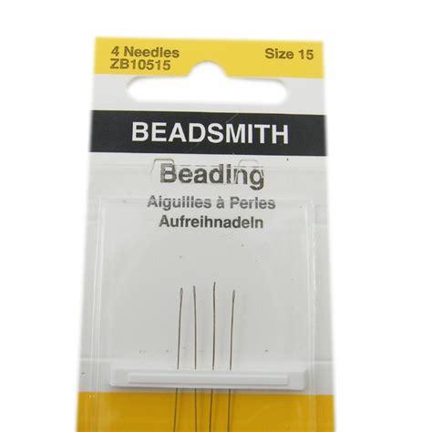 beading needle sizes size 10 beadsmith beading needles the bead shop