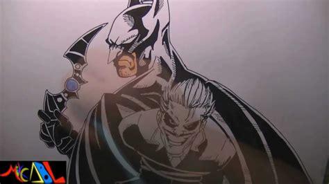 imagenes batman y joker dibujando a batman vs joker youtube