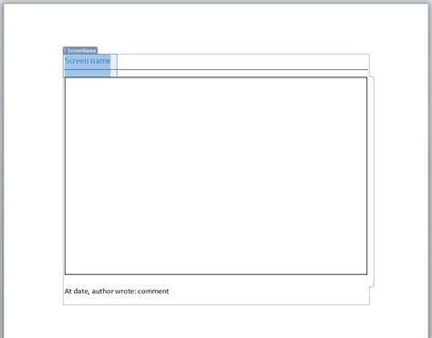 Create Word Document Template