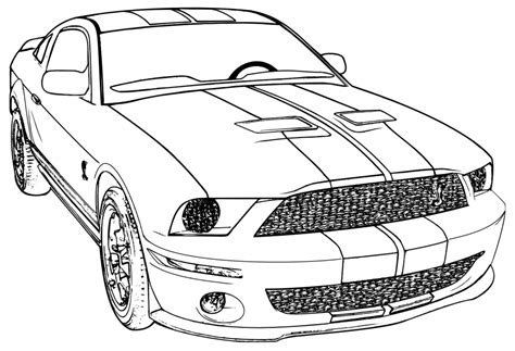 coloring pages cars mustang mustang car coloring pages coloring home
