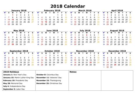 Printable Calendar 2018 With Bank Holidays | calendar 2018 printable with bank holidays printable