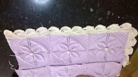 copertine per culla a maglia copertine culla filo uncinetto ferri schemi facili