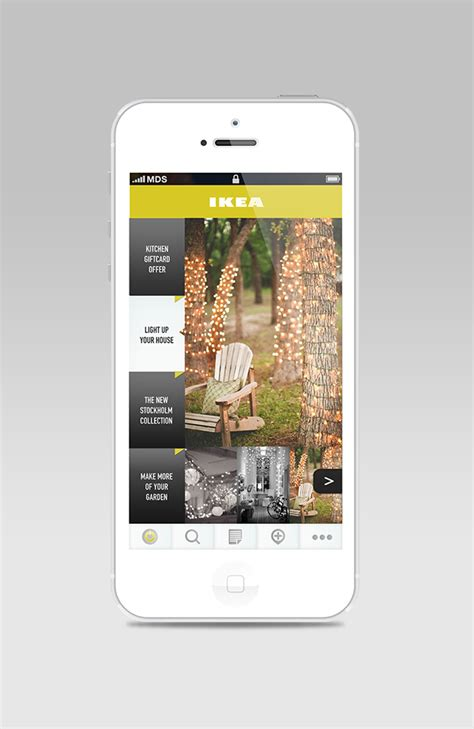 ikea app redesign concept on behance ikea app redesign on behance