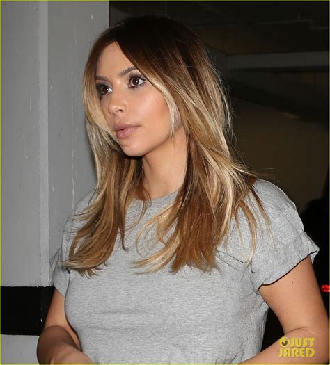 kim kardashian blonde balayage highlights photos pinterest