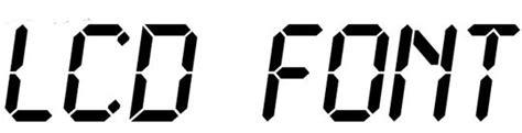printable digital font 字体大宝库 25款很好看的液晶数字字体下载 梦想天空 山边小溪 博客园