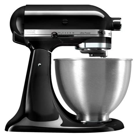 all black kitchenaid mixer kitchenaid ultra power stand mixer onyx black ksm95ob gosale price comparison results