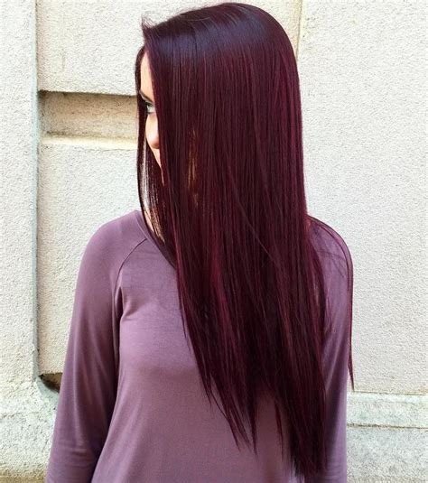 maroon color hair 50 shades of burgundy hair maroon wine