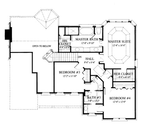 2400 square feet colonial style house plan 4 beds 3 5 baths 2400 sq ft plan 429 33