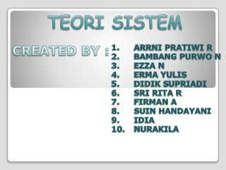 Pokok Pokok Teori Sistem Tatang M Amirin ppt teori sistem sosial powerpoint presentation id 5743506