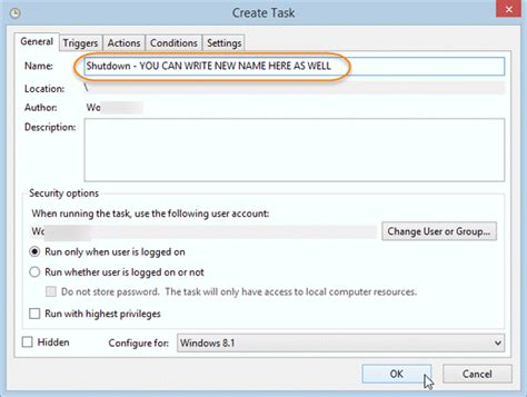 Rename Scheduled Task In Windows Task Scheduler | rename scheduled task in windows task scheduler