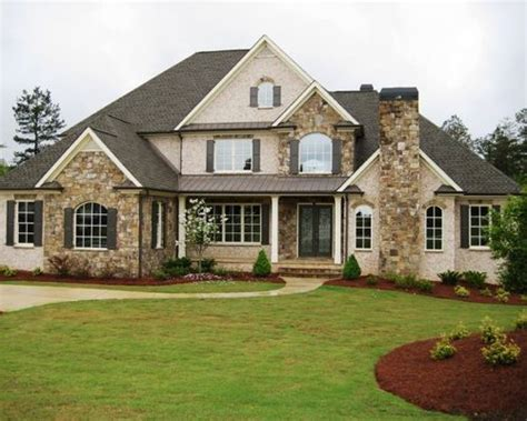 home exterior design brick and stone brick stone combination houzz