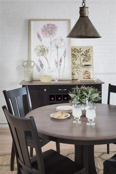 soften  black  white space small space dining