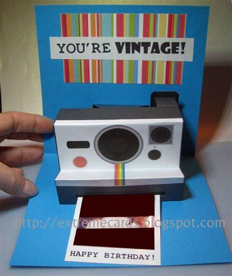 diy polaroid pop up card template polaroid pop up birthday card also a s