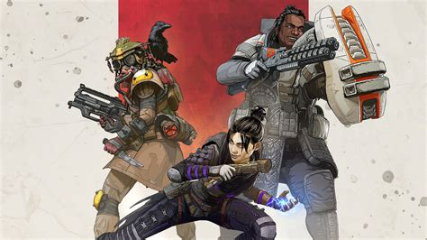 apex legends characters wraith gibraltar bloodhound