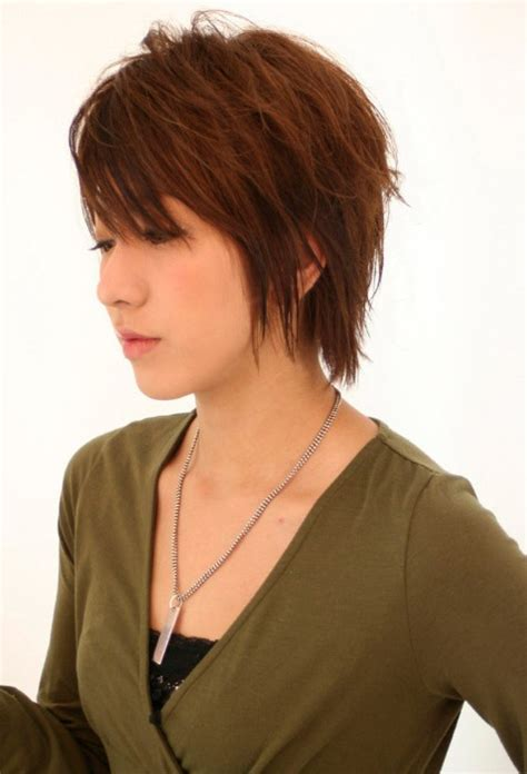 short shag cut around ears 16 cute short japanese hairstyles for women hairstyles