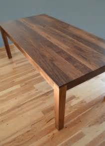 Solid Walnut Dining Table Custom Made Solid Walnut Dining Table By Fabitecture Custommade