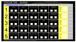 Calendario T25 Alpha Focus T25 Workout Schedule Calendar Pdf Alpha Beta Gamma