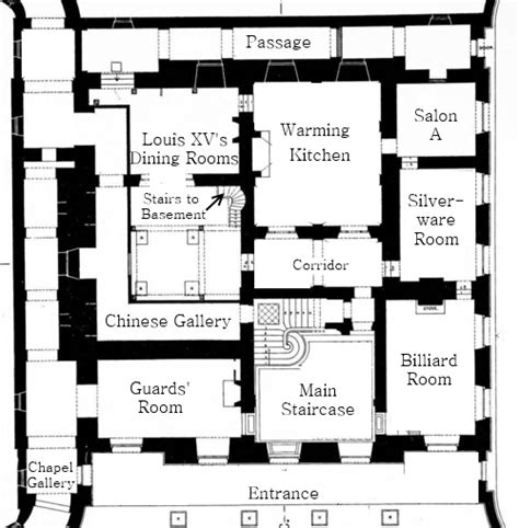 petit trianon floor plan this is versailles petit trianon