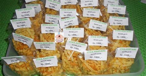 Jual Resep Jajanan Yang Bisa Dititip Ke Warung by Aneka Resep Kue Dan Masakan Enak Stik Kentang Postingan