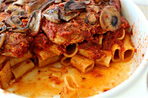 Pork And Pasta by Baked Pasta With Pork And Mushrooms The Complete Savorist