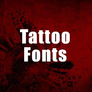 tattoo fonts app download fonts for pc