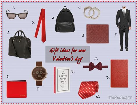 ideas for mens valentines day gifts s day gift guides do you speak gossip do you