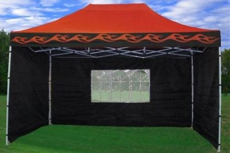 ozark trail wind curtain com 10x15 pop up 4 wall canopy party tent gazebo