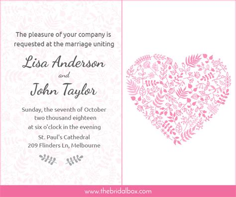 Wedding Invitation Card Wording For Friends by 50 Wedding Invitation Wording Ideas You Can Totally Use