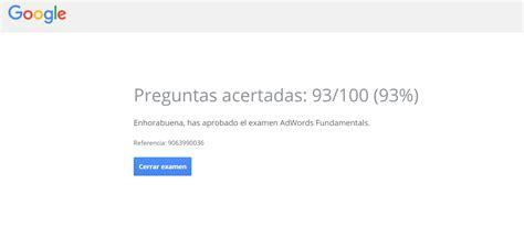 preguntas google adwords certificados en google adwords dusnic blog
