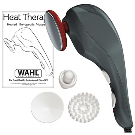 wahl heat therapy therapeutic massager wahl 4196 1201 heat therapy massager top seller in