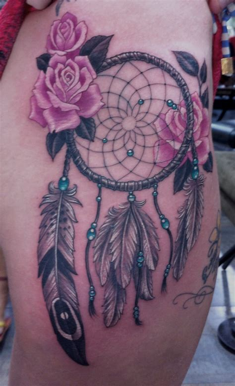 thigh dreamcatcher tattoo designs dreamcatcher tattoos designs ideas and meaning tattoos