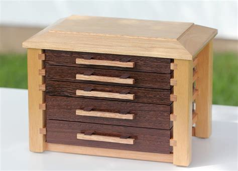 jewellery armoire australia a jewellery box with wenge drawer fronts the warawood shed