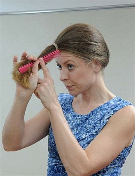 how to cut the back of your hair yourself how to cut your own hair 2
