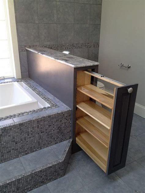 vertical bathtub 10 ways to creatively add storage to your bathroom
