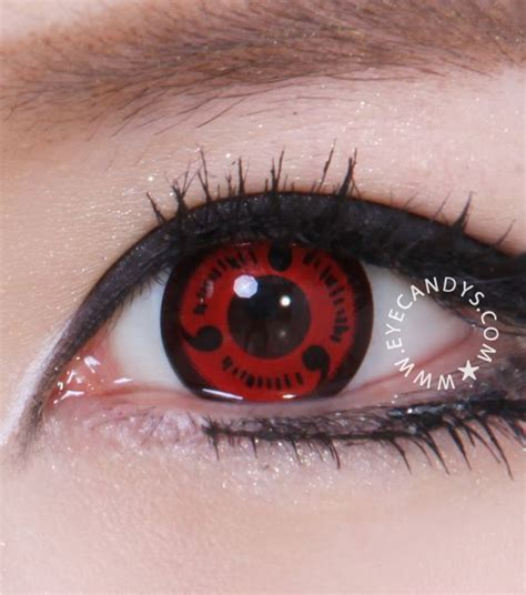 cool anime eye contacts sharingan and contact lens on