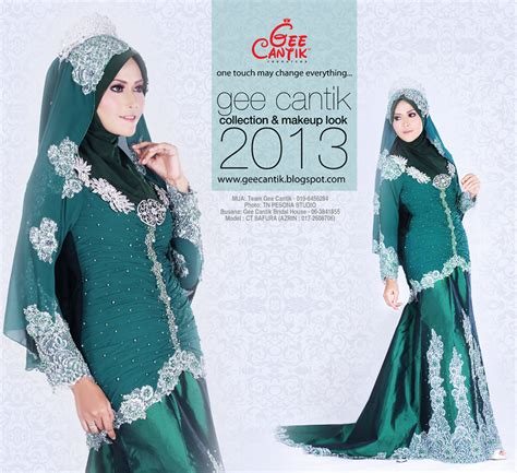 Baju Songket Hijau Zamrud pin baju pengantin hijau zamrud on