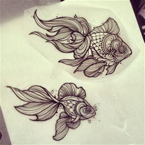 goldfish tattoo designs 25 best ideas about fish tattoos on koi fish