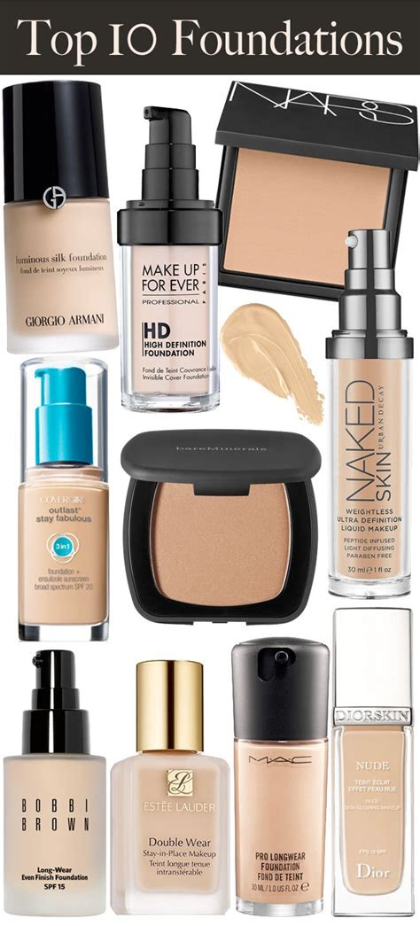 best of foundation top 10 makeup foundations tricks tips