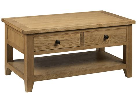 rectangle coffee table with drawers solid oak veneer wood rectangle coffee table with