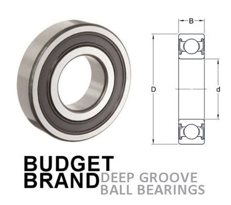 Bearing 6209 2rs 6209 2rs metric sealed groove bearing
