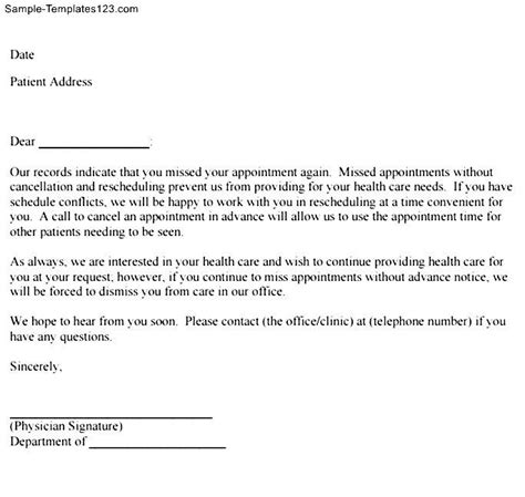 Patient Thank You Letter Templates Patient Follow Up Letter Sle Docoments Ojazlink