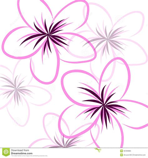 drawing frangipani background royalty free stock photo
