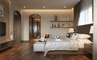 lovely How To Decorate Large Living Room #9: warm-bedroom-design-25.jpg