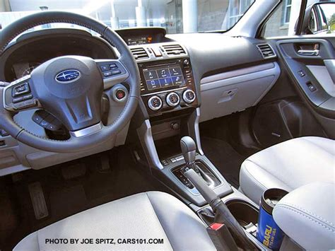 subaru touring interior 2016 subaru forester interior photos