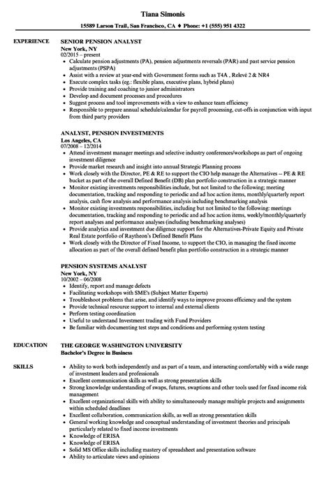senior treasury analyst resume sle senior financial
