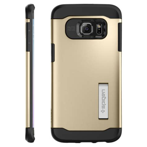 Sgp Slim Armortpu Combinationkickstsamsung Galaxy S6 spigen slim armor samsung galaxy s6 edge plus chagne gold